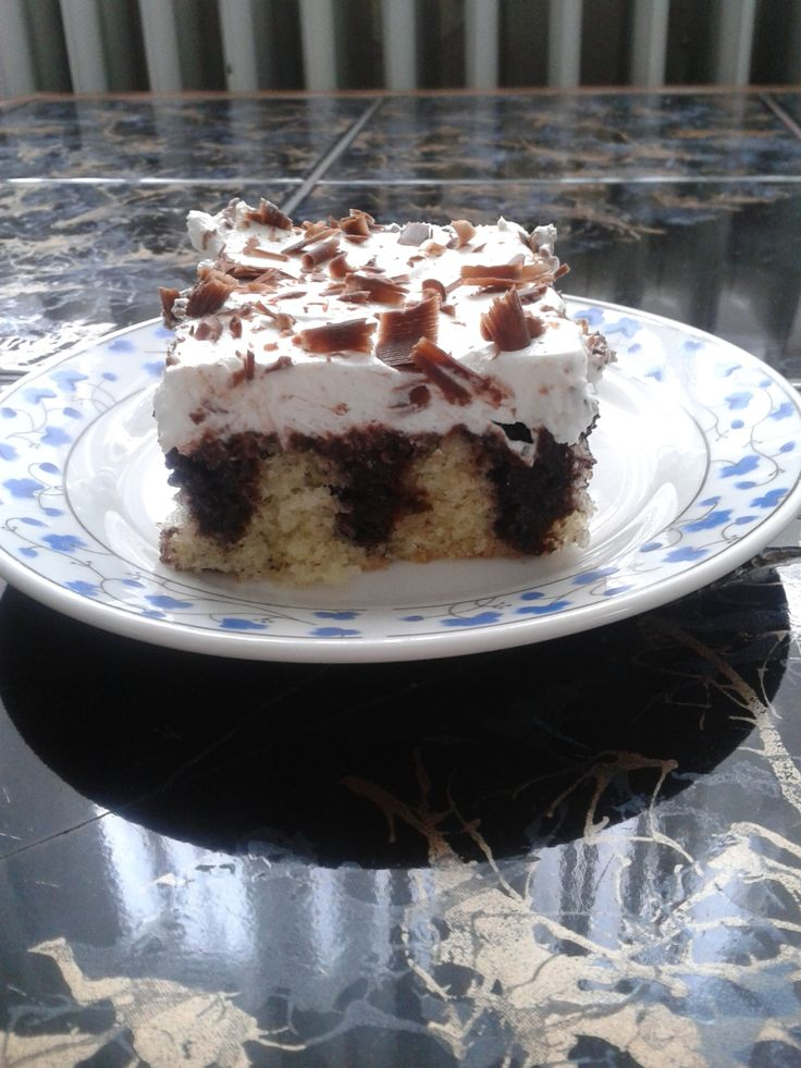 Şişleme Pasta /Dürtme Kek | Cahide Sultan بسم الله الرحمن الرحيم