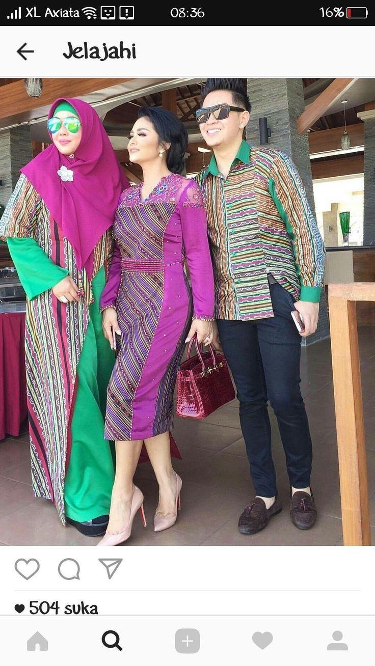 Model Gamis Batik Orang Hamil (Dengan gambar) Pakaian