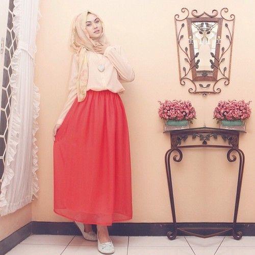 Hijab style by indah nada puspita