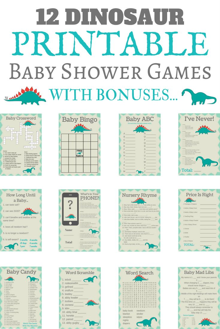 games dinosaur baby showers boy baby showers baby shower games