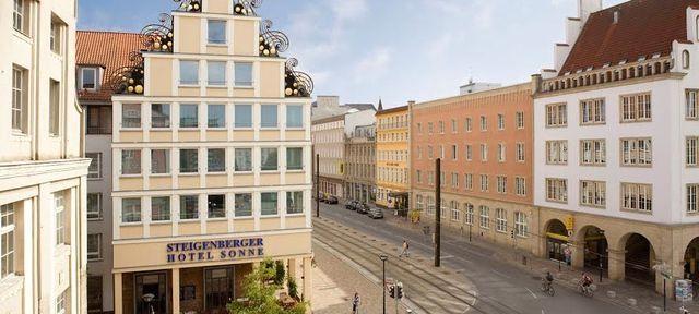 Steigenberger Hotel Sonne - beliebteste Event Locations in Rostock #event #location #top #best #in #rostock #veranstaltung #organisieren #eventinc #beliebt #business #wedding #fotolocation #privatparty
