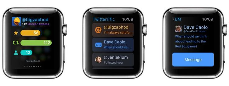 25 opening day apple watch apps. Twitterific