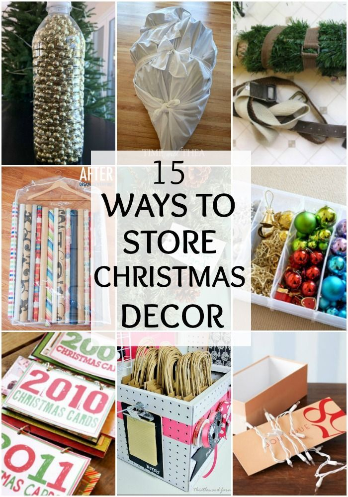 59 best Holiday Storage \/ Organization Ideas images on Pinterest - how to store christmas decorations