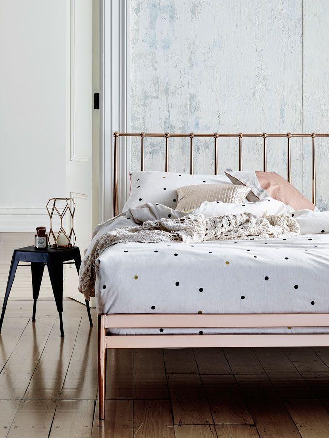 20 beste idee n over wit beddengoed op pinterest wit beddengoed decor gezellige slaapkamer - Witte hoofdeinde ...