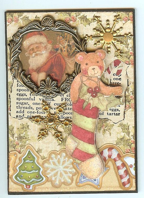 Vintage Christmas ATC, by artchick501 on Flickr