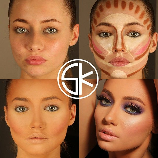 Секреты макияжа от визажистов пошагово фото