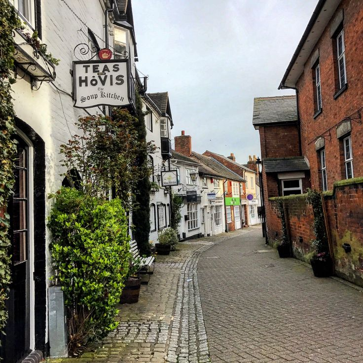 """Stafford, UK. My work's European HQ is here. Quaint little town -- very small town """"English"""", super cute and full of cherry blossoms!"""