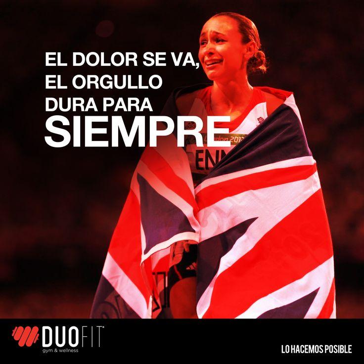 El dolor se va, El orgullo dura para siempre. #Inspiracion #frases #gimnasio #bolivia