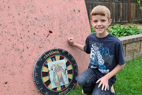 """Brayden has been devouring the """"Percy Jackson and the Olympians"""" series by Rick Riordan. So this year for his 9th birthday he wanted a Perc..."""