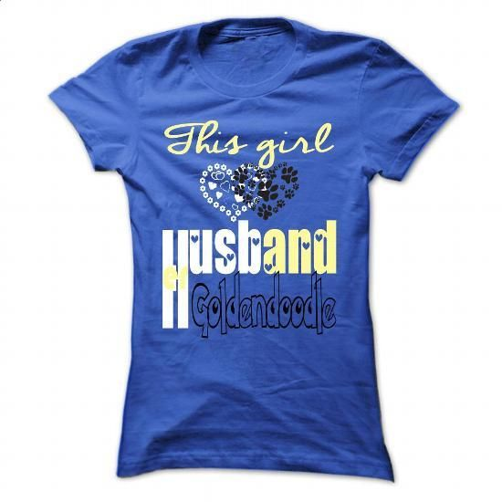 [Tshirt Feminina,Tshirt Moda] Husband & Goldendoodle. LIMITED TIME PRICE => https://www.sunfrog.com/Pets/Limited-Edition-This-girl-loves-her-Husband-and-Goldendoodle-RoyalBlue-29163407-Ladies.html?id=68278