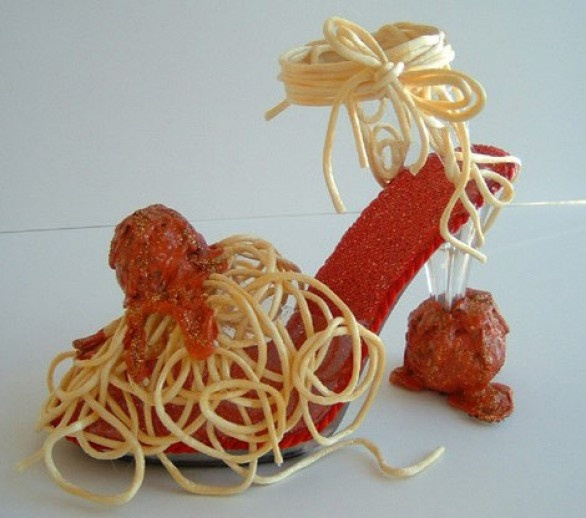 fun - gives new meaning to spaghetti strap