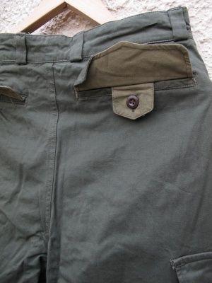 画像5: DEADSTOCK 60's VINTAGE French ARMY M-47 Cargo pants デッド フランス軍 カーゴパンツ ワンウォッシュ