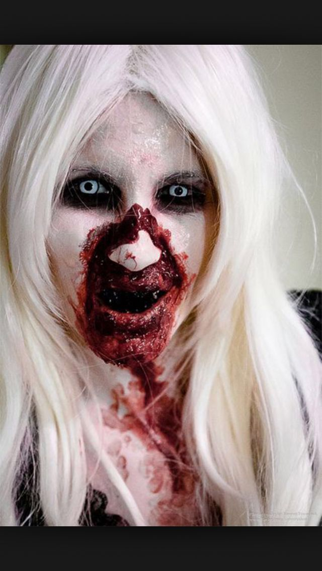 23 best Scary Halloween makeup images on Pinterest | Costumes, Fx ...