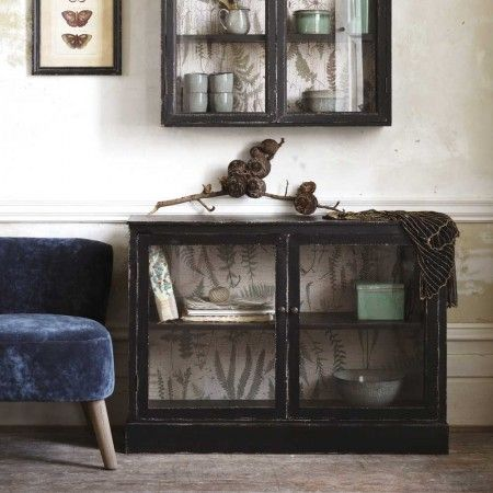 Glass Fronted Buffet Cabinet - Cabinets & Shelving - Furniture - Furniture £315 74cm (H) x 104cm (W) x 37cm (D)