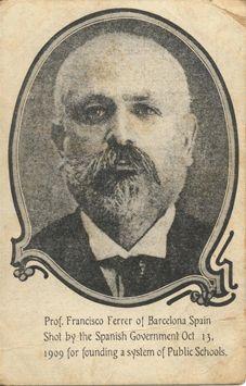 Francisco Ferrer i Guardia.