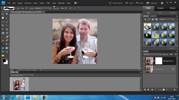 How to Create a Gaussian Blur in Photoshop
