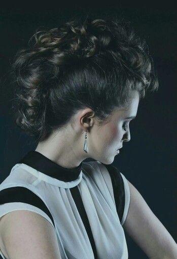 #hawk #curls #fashion #makeup