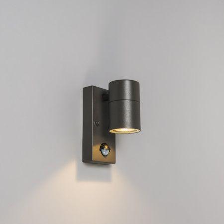 Außenleuchte Solo PIR dunkelgrau #Außenbeleuchtung #Lampe #Leuchte #Light #Haus #wohnen #Bewegungsmelder