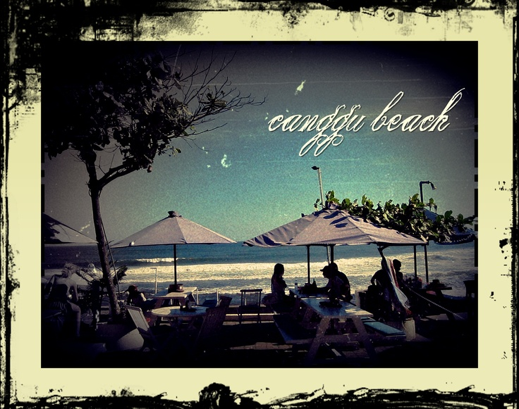 What a lovely place! Canggu Beach, love at the first sight! Located in Denpasar - BALI, INDONESIA