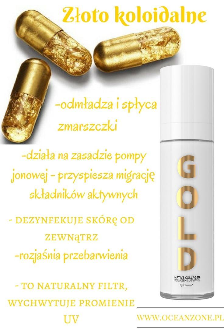 Blog - - Oceanzone. Kolagen GOLD od Colway  #złotokoloidalne #srebrokoloidalne #kosmetykinaturalne #naturalnapielęgnacja #uroda #kolagen #kolagengold #colway #colwayinternational #oceanzone.pl