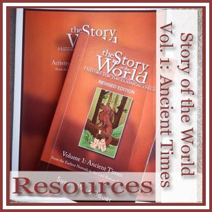 Video links, quizzes, supplemental reading, writing projects and vocabulary for Story of the World Volume 1.