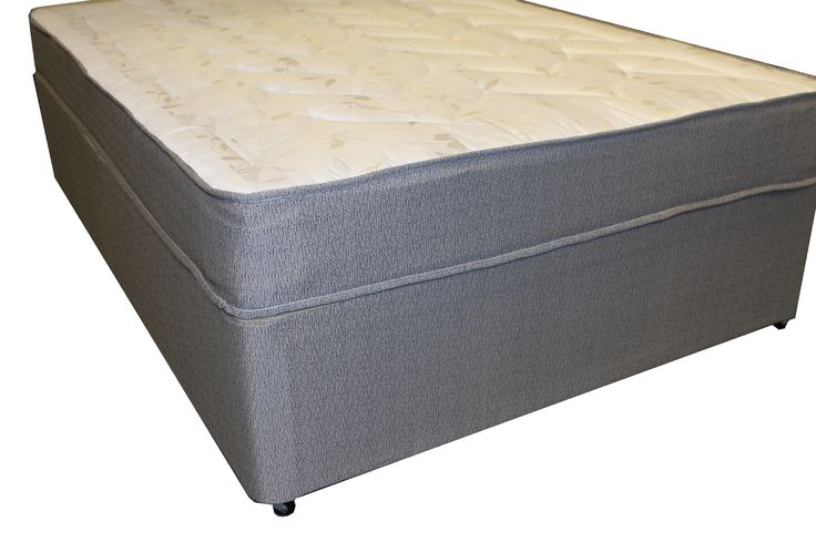 2ft6 Comfy Divan Set - non, sliding & drawer storage options available - £279.95 - he Comfy Divan is brand new to our range and has already proven to be very popular. The mattress has a medium tension spring system and is upholstered in a soft, quality damask fabric. Plush layers of fillings are built on top of the spring system on both sides