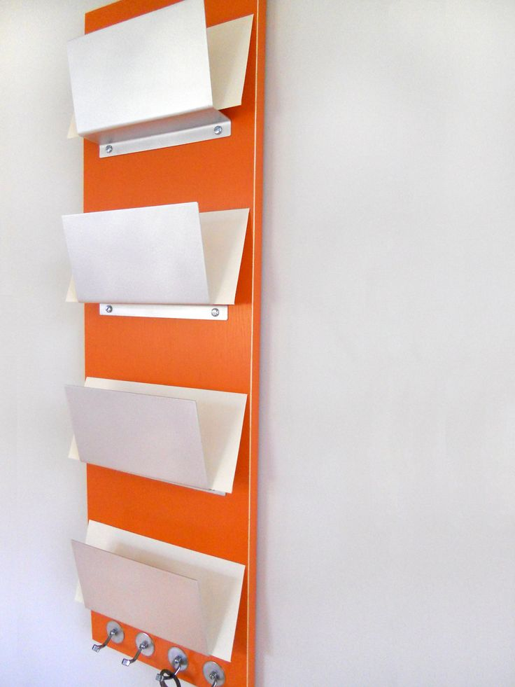 FAMILY MAIL ORGANIZER Wall Mount Family Mail