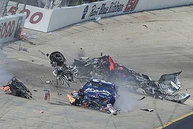 It has been awhile since we posted any videos or photos of NASCAR wrecks. We know what you people like. Check out this gallery of 25 nastyNASCAR crashes.