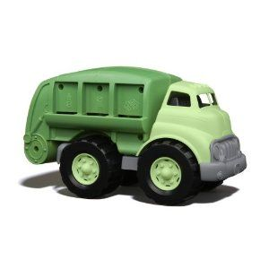 Recycled dump truck, I love these for presents.