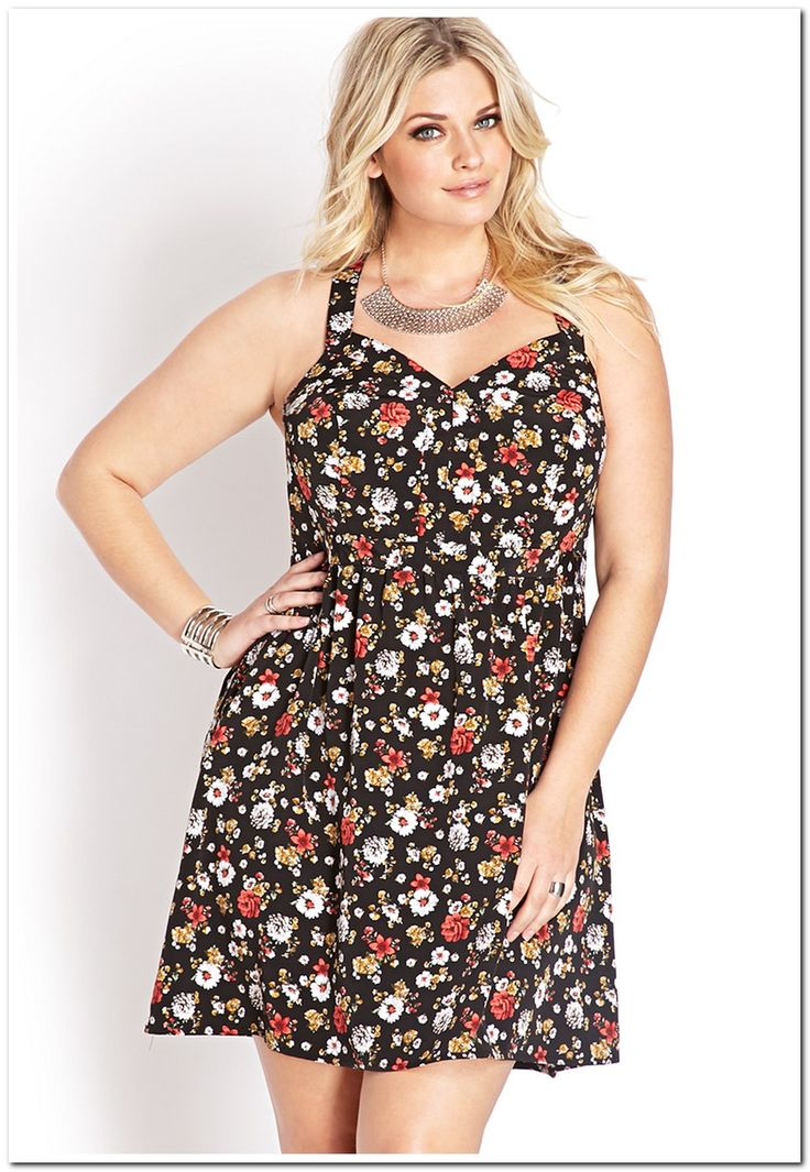 Small printed plus size sundresses for summer seasons