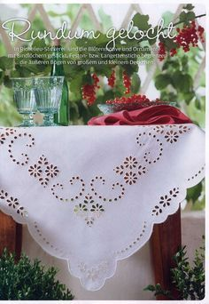 toalha-de-bandeja-redonda-richelieu.jpg (481×400) - Google Search - Google…