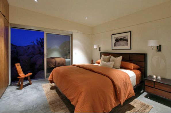 Minimalist Bedroom Design In California House - pictures, photos, images