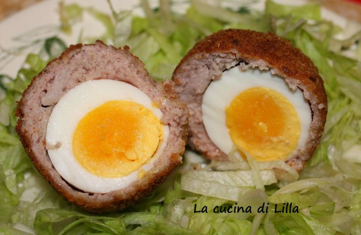 La cucina di Lilla (adessosimangia.blogspot.it): Secondi: Uova alla scozzese di Gordon Ramsay