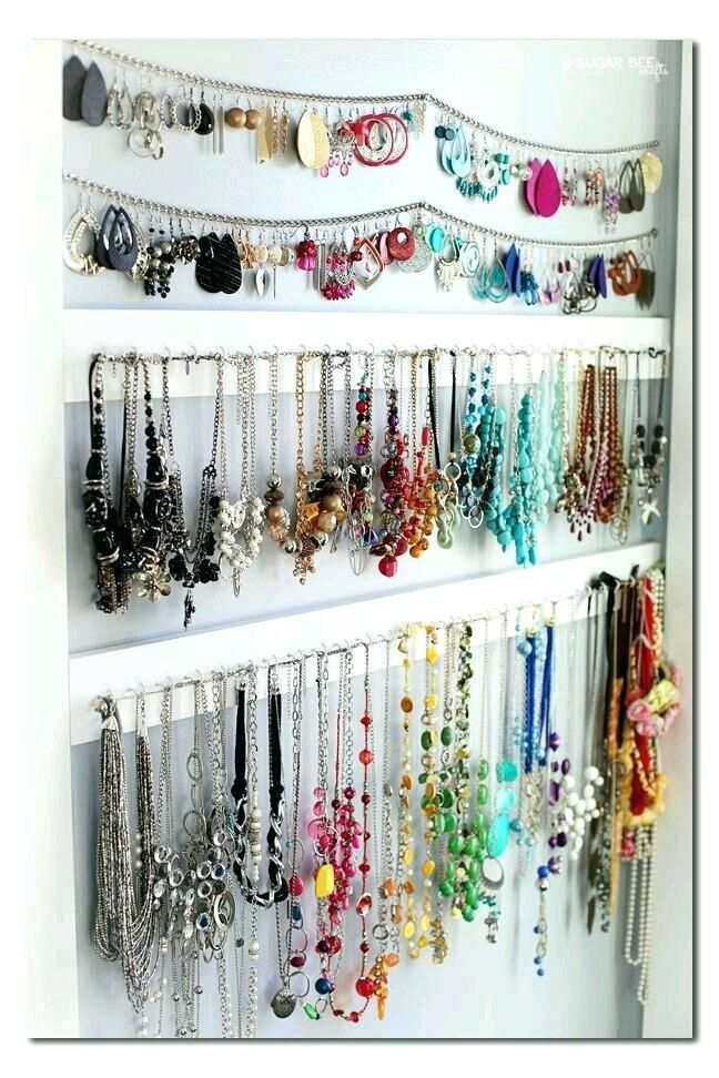 Closet Organizers Jewelry Storage Simple Jewelry Organization Install In Walk In Closet Boy Bedroom Decorating Ideas Pic Jewelry Organizer Wall Jewellery Storage Jewelry Organization