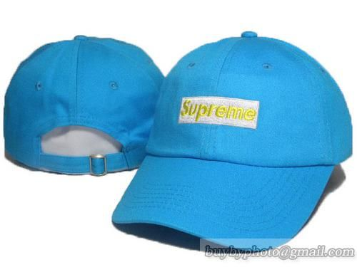 Supreme Baseball Caps Adjustable Hat Curved Cap Blue|only US$6.00 - follow me to pick up couopons.
