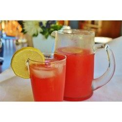 My son had this watermelon lemonade at a friend's house and what crazy over it!