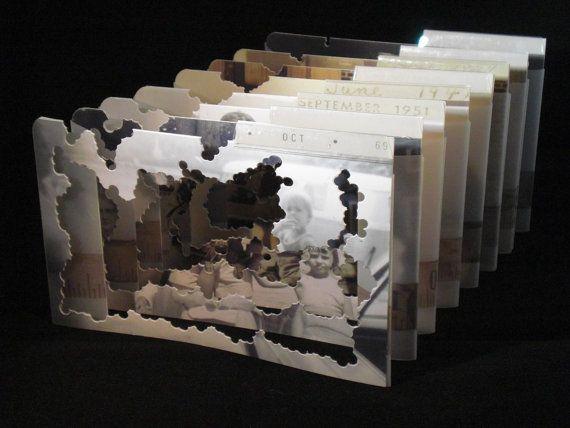 Vanishing Point, A Tunnel Book via Etsy