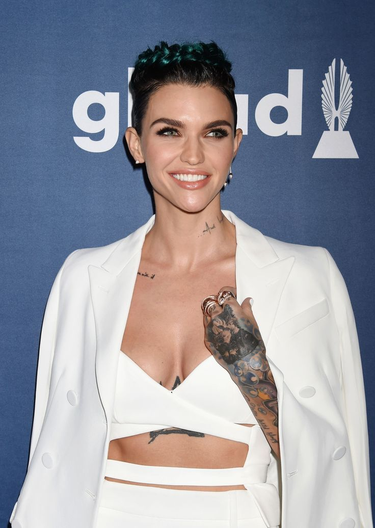 Ruby Rose TakesHer Hair Cues From Justin Bieber...Sort of from InStyle.com