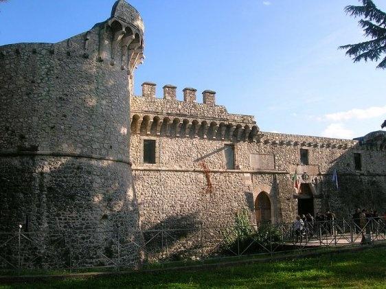 castello Orsini ad Avezzano, Italy. 42°02′28″N 13°26′22″E