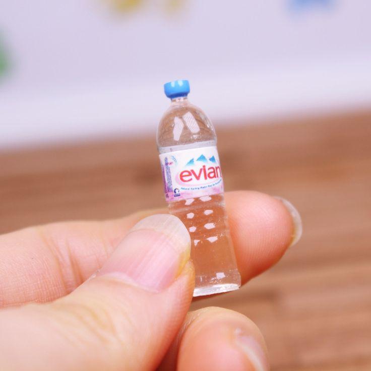 D008 Doll Bottle Water Miniature Barbie Blythe BJD FR PP Azone Momoko