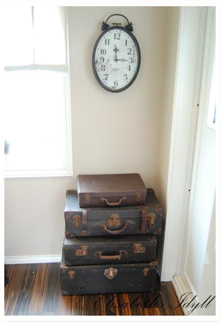 Gamle kofferter