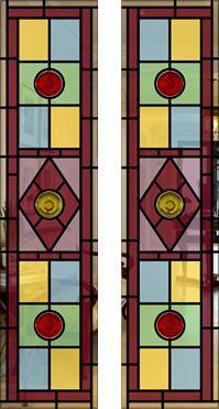 Split Glazed Leaded Glass Door Designs & 15 best Unglazed doors images on Pinterest | Unglazed doors ...