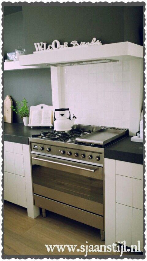 My kitchen♡ www.sjaanstijl.nl