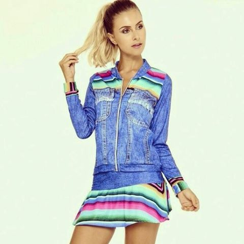 Morrendo de amores pelo Conjunto Jeans  #artstilo #euusoeuamo #fitness #conforto #colecao2016 #inverno #lasvegas #chic #fashion #feminino #gym