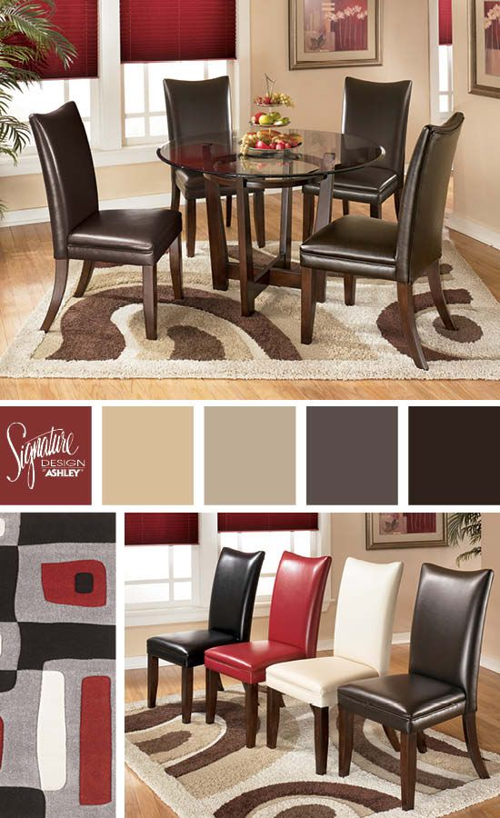 Dining Room Furniture Table And Chairs Charrell Dining