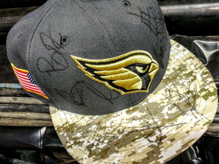 PBR autograph AZ Cards hat