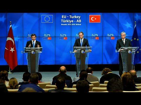 Migrant Crisis: EU Turkey Summit in Brussels