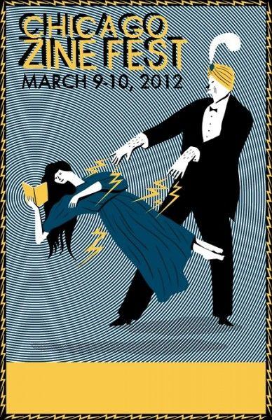 neat ad for Chicago Zine Fest | Kristin M Roach