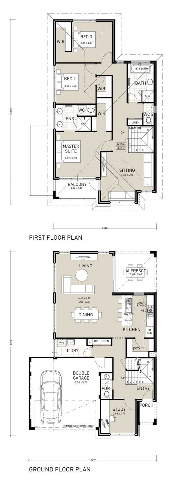 Architecturally designed, this three bedroom home features a large open plan kitchen, dining and living that joins seamlessly onto the alfresco to enjoy outdoor living year round. Downstairs also features a great sized study and practical laundry and storage. The upstairs is spacious and functional with two large bathrooms and an additional sitting room which …