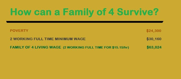 You can do this. Two adults working full time for minimum wage is above the poverty line!